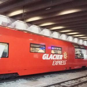 スイスの旅  -16-  世界一遅い~氷河特急