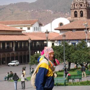 ペルーの思い出 -その3- 標高3400m! クスコへ