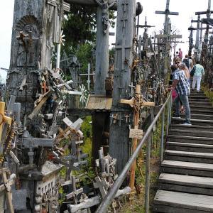 バルト3国の旅-21- リトアニア・十字架の丘