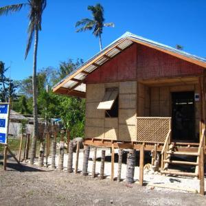 フィリピンハウスの建築費。