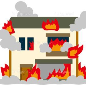 マリアーナ家 3男坊のアパート火事。