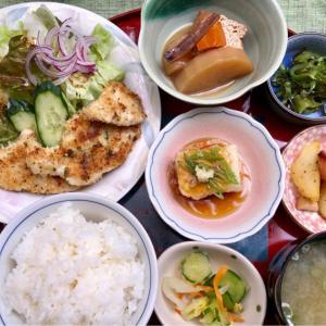 鶏むね肉のパン粉焼き★(^^♪・・・・・800円ランチ