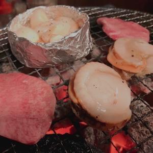 焼肉の写真をポンポン貼っただけの飯テロのそれ♥