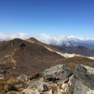 紅葉を楽しみに九重連山へ(2日目その1)