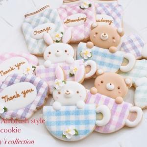 【募集】ALAエアブラシ風アイシングクッキー™オンラインレッスン