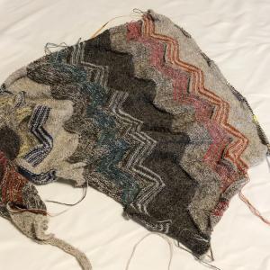イサガー GAVSTRIK shawl