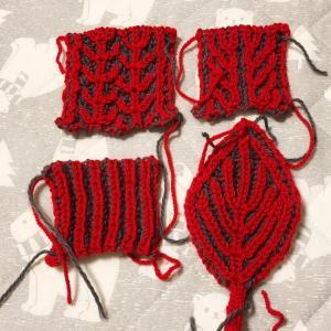 ブリオッシュ編み