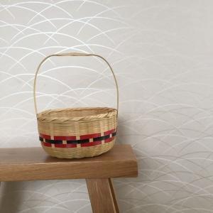 竹細工に惹かれる。シンプル×和のインテリア。