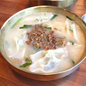 【麻浦】明洞餃子ソックリの「江南餃子」を食べてみる