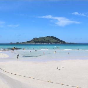 【済州島】済州で1回は行くべき絶景ビーチ@狭才海水浴場