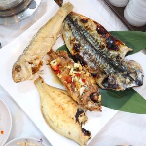 【済州島】ボリューム満点な焼き魚盛り合わせ定食@중문생선구이/中文センソングイ