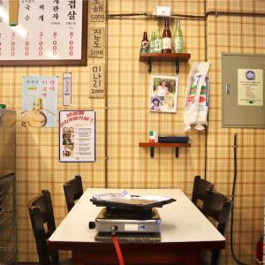 【済州島】レトロ可愛い冷凍サムギョプサルチェーン@괸당집/クェンダンチッ