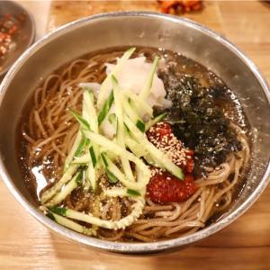 """【麻浦】お得な""""マッククス定食""""がおすすめのお店@왕가밀/ワンガミル"""