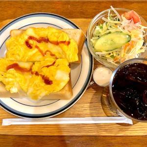 【久屋大通】テレビ塔横の老舗喫茶でふんわり玉子トースト@喫茶グロリヤ