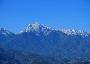 山がきれいな日