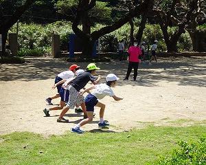 運動会の練習開始