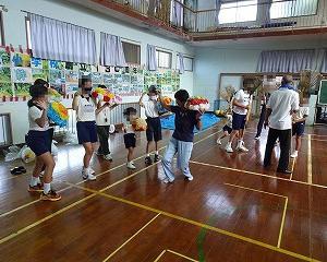 テンテン踊りの練習