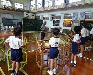 立神太鼓の練習