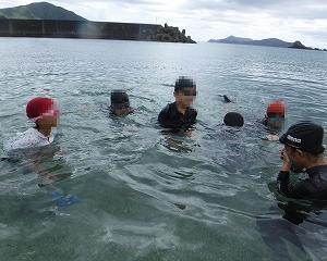 最後の水泳学習