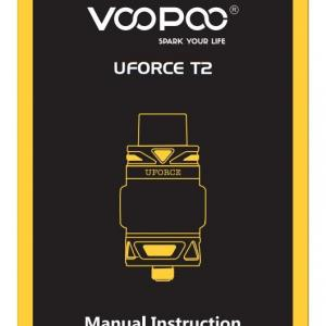 VOOPOO UFORCE T2 Manual Instruction