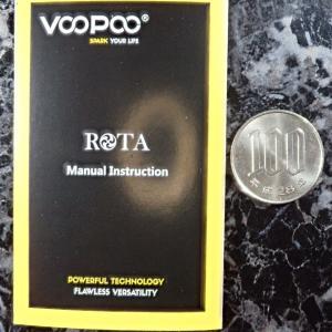 VOOPOO ROTA Manual Instruction