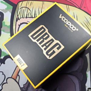 VOOPOO DRAG 2 KITレビューその4(箱と付属品とその他編)