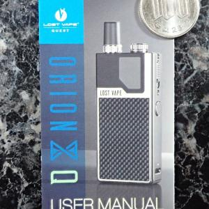 LOST VAPE QUEST ORION Q USER MANUAL