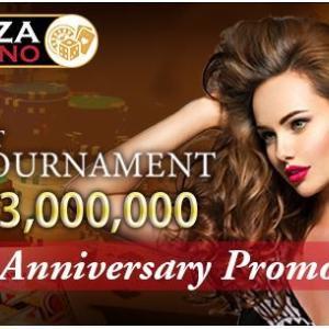 PAIZA CASINO 感謝の気持ちの2周年記念イベント【2nd Anniversary Promotion】