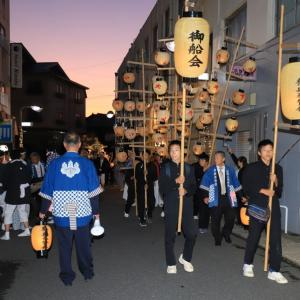 熊野三所神社例大祭 ( 宵宮 渡御 ・ 獅子舞 ) 令和元年