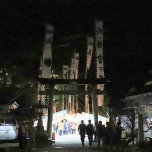 堅田八幡神社の例大祭( 宵宮 )