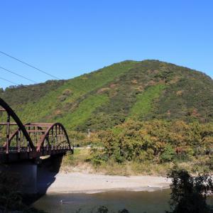 日置川の投げ刺網