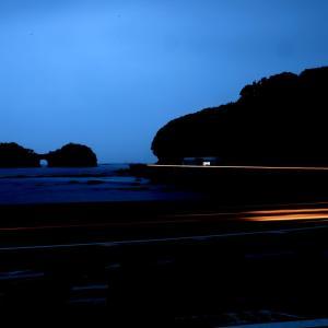 夜の円月島