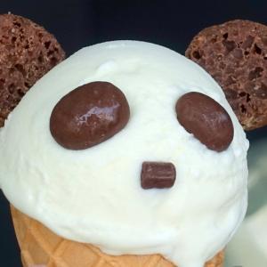 土佐屋さんのパンダアイス