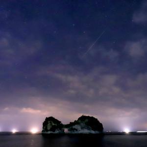 ペルセウス座流星群 ( 明るいレンズが欲しい )