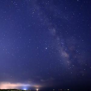 昨夜も天の川・ペルセウス座流星群観賞