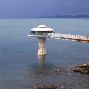 台風後 中々綺麗な海が戻らない南紀白浜
