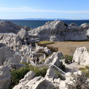 清水温泉と白崎海洋公園