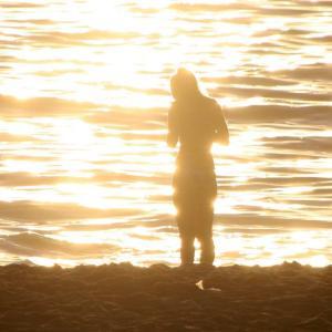 マジックアワーの白良浜・円月島