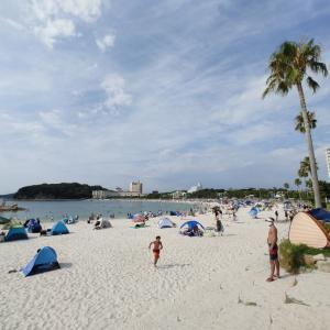白良浜海水浴場の今日