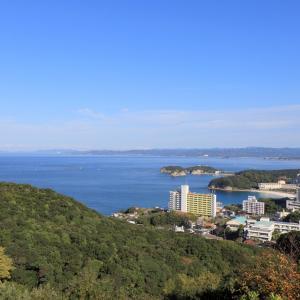 和歌山県の最西端日の岬から眺める南紀白浜