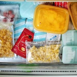 やっぱりぐちゃぐちゃ……冷凍庫整理