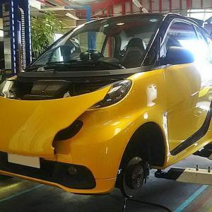 MCCスマート 451エディション シティフレーム 納車準備~納車