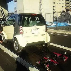 MCCスマート MC012クーペ エンジン始動出来ない/岐阜県から洗車