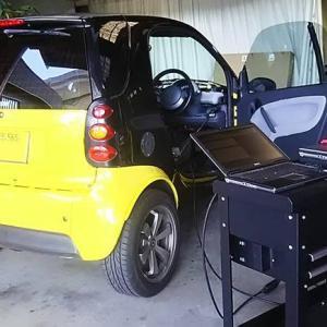 MCCスマート 450K オイル交換~ヘッドランプレンズ再生・車速パルス取り出し・他電装