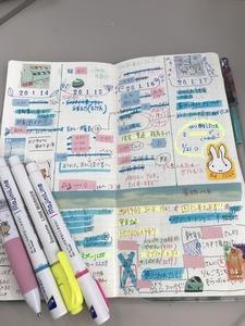 月曜日に先週を振り返る。自作手書き手帳のウィークリー公開
