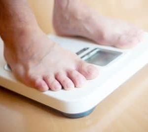 体脂肪率20%、体内年齢43歳の70代男性のお客さま