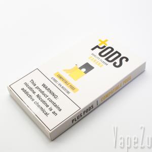Plus Pods Banana 4Pack JUUL 互換ポッド レビュー