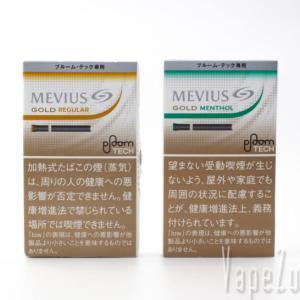 Ploom TECH (プルームテック) 新銘柄 メビウス・ゴールド・レギュラー メビウ ス・ゴールド・メンソール たばこカプセルを吸ってみる