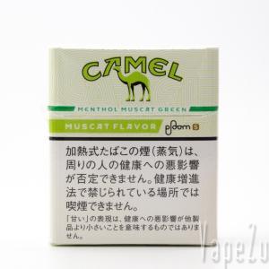 Ploom S (プルームエス) CAMELの新フレーバー メンソール・マスカットグリーン を吸ってみる
