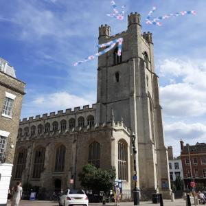 「Great」 St Mary's Churchタワーのてっぺんから